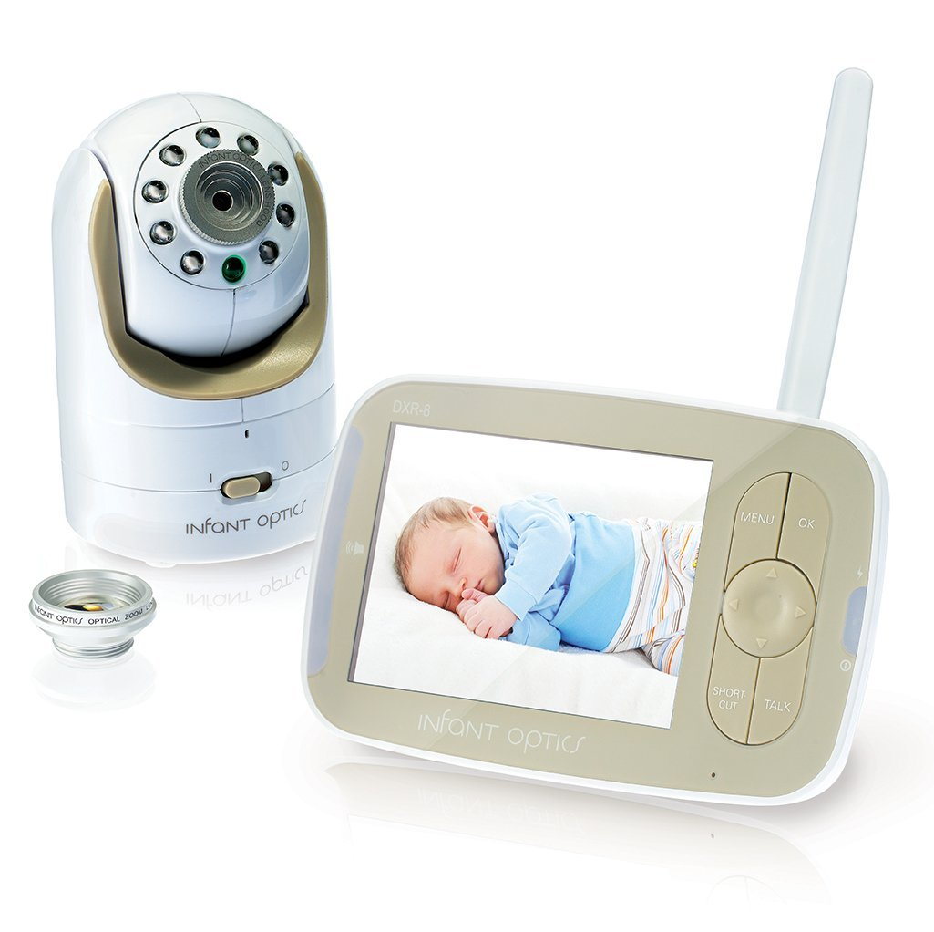 Infant Optics DXR-8 Video Baby Monitor Review: Old School Comfort